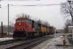 CN 149 rolls past