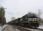 Eastbound Rack Train w/NS Power