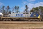 CSX 350, at CSX engine terminal