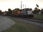 EMDX 791 and BNSF 2036