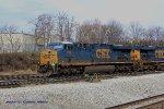 CSX 770 and 739 working Nashvilles Radnor yard.