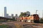 BNSF SD70ACe's 9131 & 9292 ease southbound with Powder River Coal