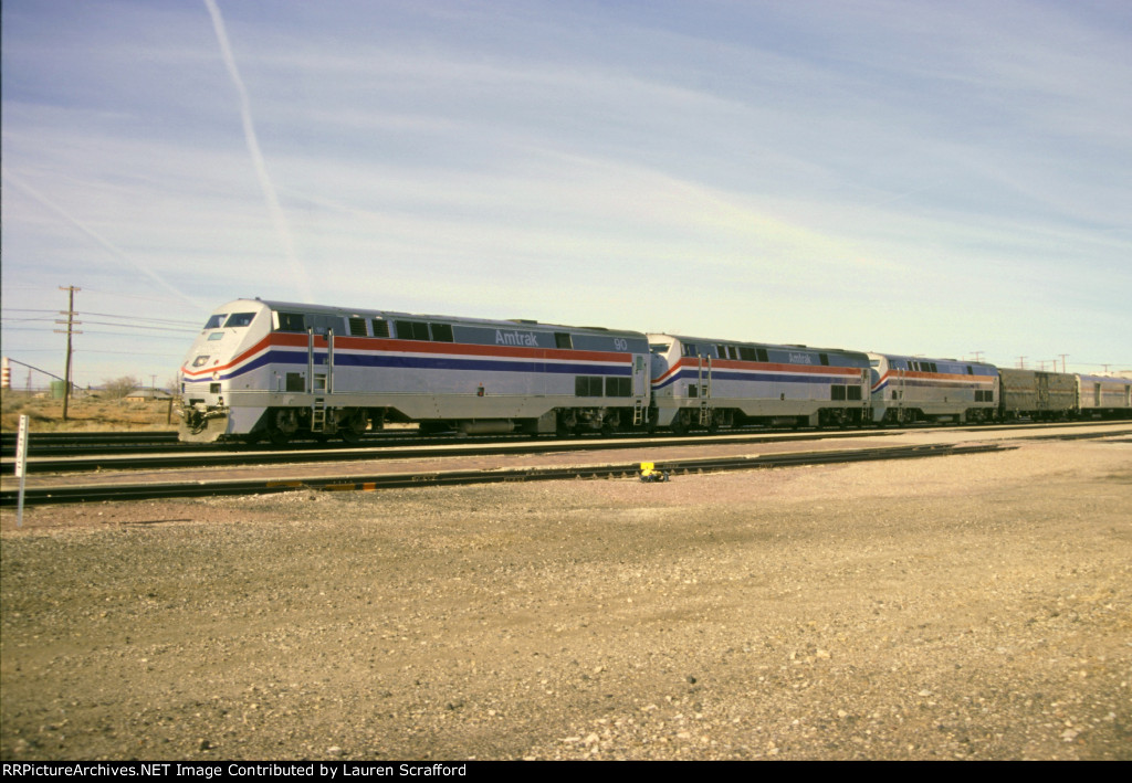Amtrak 90 SW Chief #4