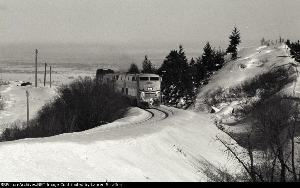 Amtrak #5 W/B