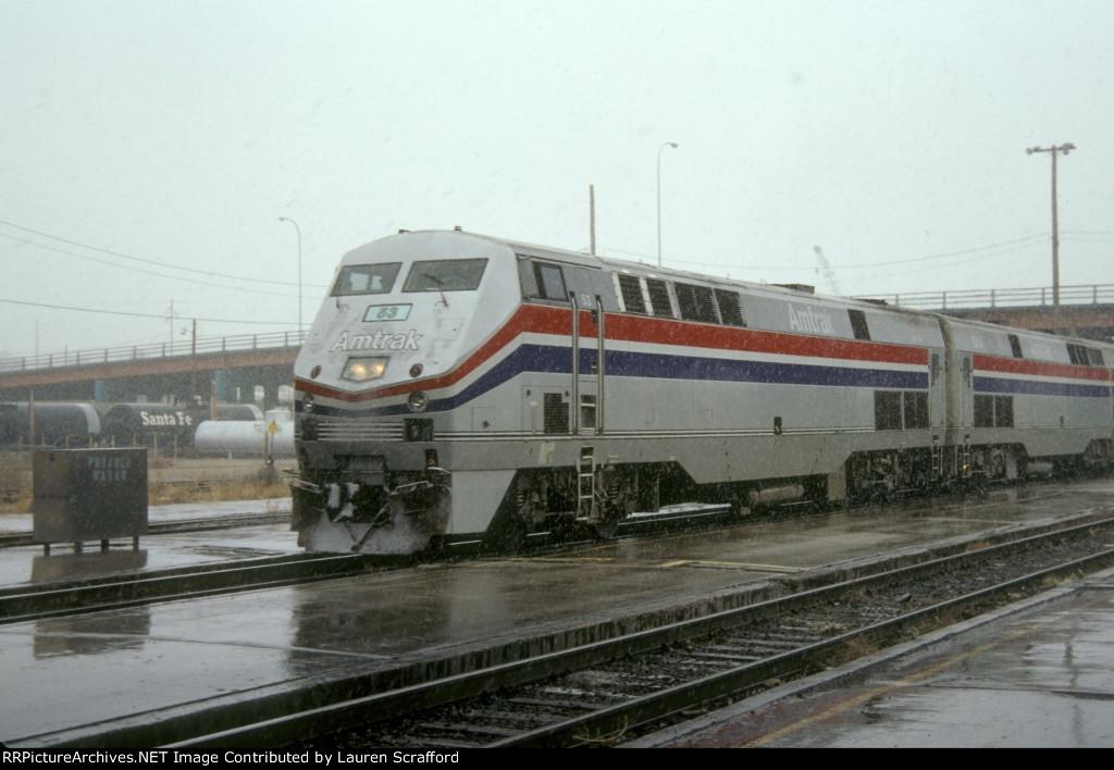 Amtrak #4 E/B
