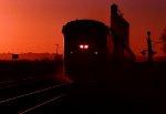 Amtrak W/B #1 Sunset Ltd. at Sunrise.