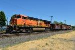 BNSF 7795 Ballast Train