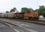 BNSF 5224 & 6412