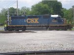 CSX 8369 Uncoupled and Leaving NS Interchange Yard