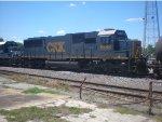 CSX 8548 Following HLCX 8143 Through Decatur, AL