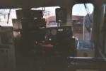 In cab of WSOR 4009