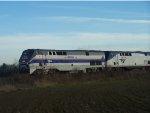 AMTK 184 - Amtrak Phase IV Heritage Unit (1971-2011), Passing Meadowview Road Crossing