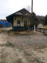 Avella train station - early spring.