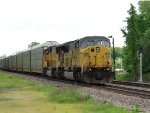 Former UP SD9043AC 3521 (8065) leading the AASAM