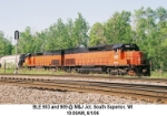 B&LE Power on CN Transfer to BNSF