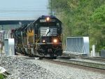NS train 361 with EMD gastank mania