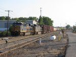 CSX 3003 & 5106 start to pull east with Q334-12