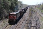 CN 5510 goes solo as it roles east with A438 from Windsor