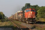 CN 5755 & BCOL 4609 roll east through Ingersoll with M382