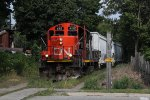 L580 starts its Wednesday only trip down the Brantford Industrial Track