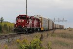 The Pender Job departs west with a cut of autoracks