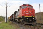 CN 2157 leads the 5725 & IC 1012 east with the M332