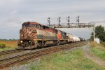 BCOL 4607 & CN 5759 dig in as they get rolling with M331