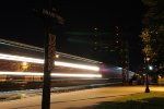 M383 rolls west through the night led by CN 8842