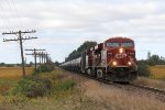 CP 8786 & 9632 race east on the Galt Sub with the oil loads of train 608