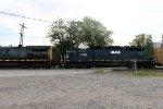 CSX Autorack Train