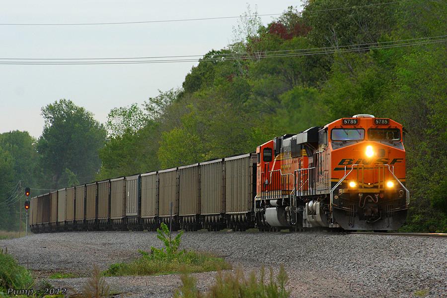 Eastbound BNSF Loaded Coal Train
