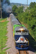 Eastbound NS 1070 - NS 1072 and NS Employee Appreciation Train