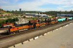 Northbound BNSF High Priority Manifest Train