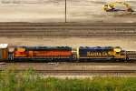 Northbound BNSF Transfer Train