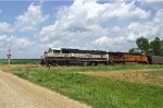 BNSF 9559 and 6027