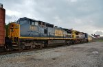 CSX 7853 was cleaned up for the photo shoot.