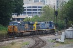 CSX 460-811 Light Locos Headed South