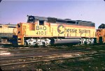 BO 4105 Silver Trucks Chessie GP40-2