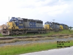 CSX SD 40-2's everywhere