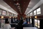 Interior of Amtrak's Viewliner Diner