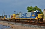 CSX 9250 & 9241 are new to me and subject to a bit of operator error.