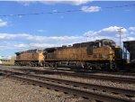 UP 7001 & 6578 Coal Pushers