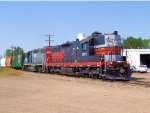 North Western Pacific SD9 4327 Working the Great Western Railway of Colorado