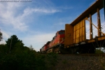 BNSF 5181 at Amherst, WI on M34191-02.