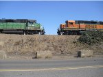 Parked BNSF Geeps