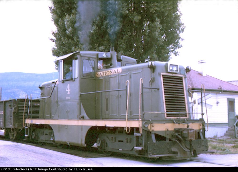 CN 4 pulling hard on station tracks