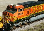 BNSF 4629, fresh from the shops