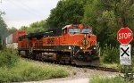 BNSF 1061 east on the Topeka Sub