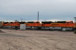 BNSF 9084 On Point Arriving Denver Yard