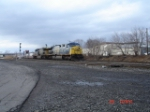 CSX 690 & CSX 636 pull the Q164 EB on the #1 Track